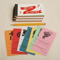 Offline Activities - coupon book of activity suggestions