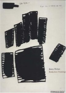 Jenny Holzer: Redaction Paintings