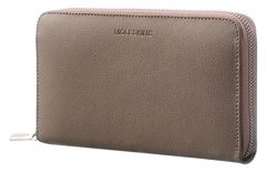 Leather Lineage Zip Wallet