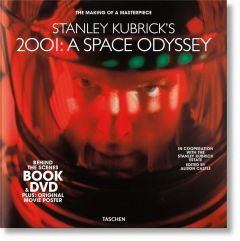 Stanley Kubrick 2001: Space Odyssey. Book & DVD Set.