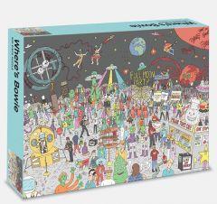 Where's Bowie?: 500 Piece Jigsaw Puzzle: 500 piece jigsaw puzzle