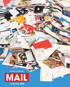 Mungo Thomson: Mail
