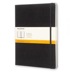 Moleskine Classic Notebook, Extra Large, Ruled, Black, Hard Cover (7.5 x 10)