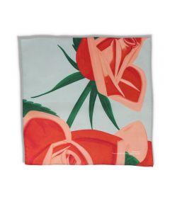 Red Rose Handkerchief by Alex Katz
