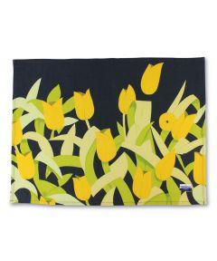 Tulips Linen Tea Towel by Alex Katz