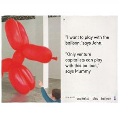 I Want To Play With the Balloon Tea Towel