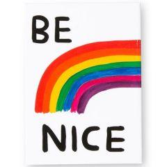 Be Nice Magnet by David Shrigley