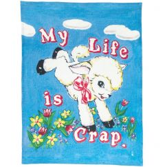 My Life Is Crap Tea Towel
