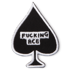 F*cking Ace Iron-On Patch