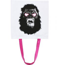 Gorilla Mask Tote Bag