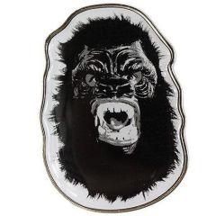 Gorilla Mask Enamel Pin by Guerrilla Girls