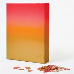 Gradient Puzzle Large - Red/Orange/Gold (500 pc.)