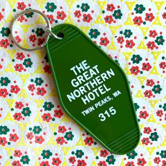 Twin Peaks Great Northern Hotel Key Tag