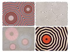 Corkboard Placemat Set by Louise Bourgeois