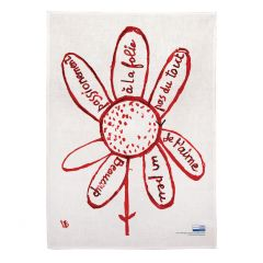 Virtues Theologales Linen Tea Towel