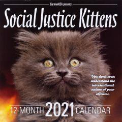 2021 Wall Calendar - Social Justice Kittens