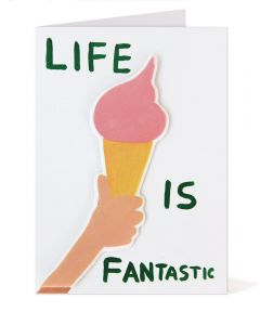 Life is Fantastic Puffy Sticker