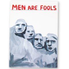 Men Are Fools Magnet by David Shrigley