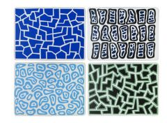 Corkboard Placemat Set 2 by Nathalie Du Pasquier