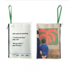 John Sees The Painting Clutch by We Go to the Gallery