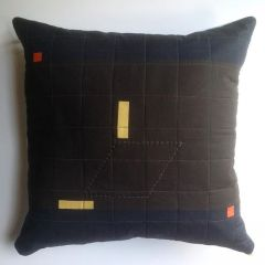 "RAY Organic Heirloom Pillow ""Deserted and Quiet Place"""