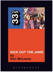 MC5's Kick Out the Jams (33 1/3)
