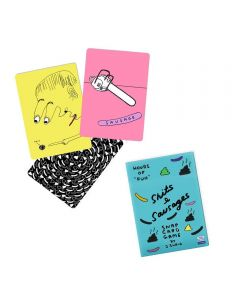 Sh*ts & Sausages Snap Card Game by David Shrigley