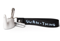 Ridiculous Swan-Thing Keyring
