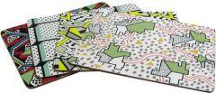Corkboard Placemat Set 1 by Nathalie Du Pasquier