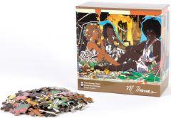 Le Déjeuner Jigsaw Puzzle by Mickalene Thomas
