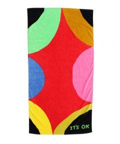 It's Ok Beach Towel X David Shrigley