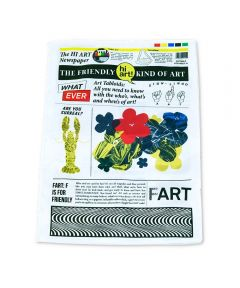 Fabric Toy Newspaper X Hi Art