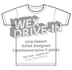 The Craft / Wex Drive-In T-Shirt by Deerjerk (coming soon!)