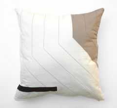 "RAY Organic Heirloom Pillow ""Patient Persistence"""