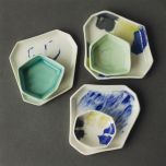 Geometric Hexagon Dish