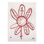 Virtues Theologales Linen Tea Towel