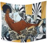 A Little Taste Outside Of Love Scarf by Mickalene Thomas